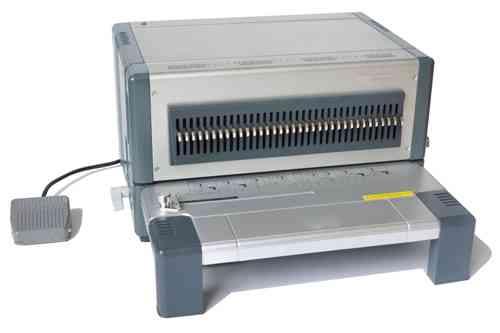 70901 wei/ß ProfiOffice/® Drahtbinder/ücken 5.5 mm 3:1 Teilung 34 Ringe